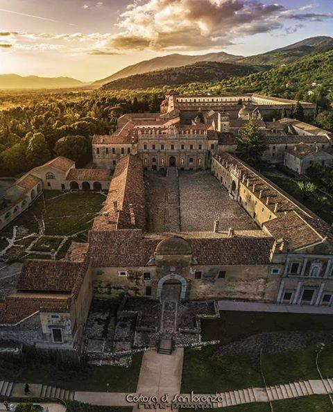 Il più vasto complesso monastico dell'Italia Meridionale: la Certosa di San Lorenzo a Padula